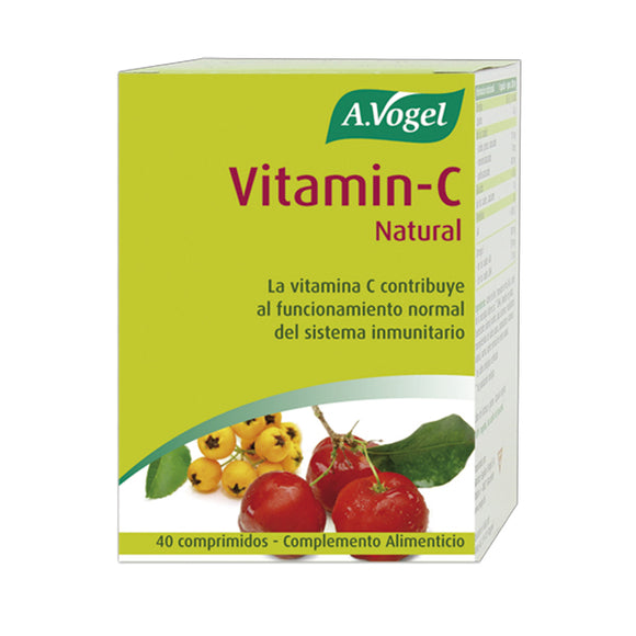 Vitamin C Natural - 40 Comprimidos. A.Vogel