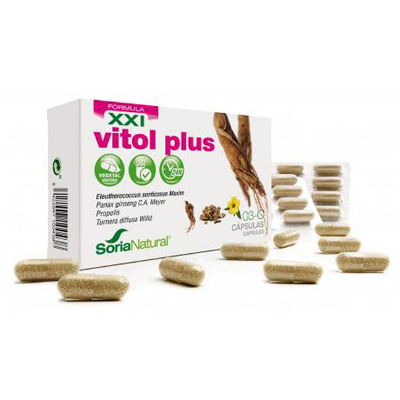 03C Vitol Plus - 30 Cápsulas. Soria Natural