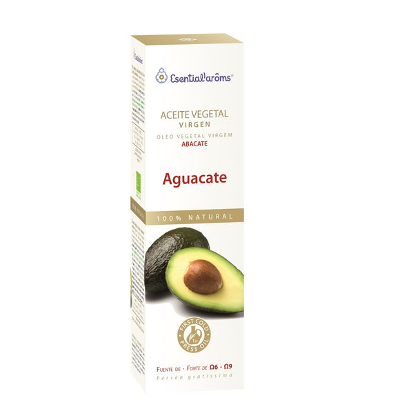 Aceite Vegetal Virgen de Aguacate - 100 ml. Esential'aroms