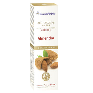 Aceite Vegetal Virgen. Almendra - 100 ml. Esential'aroms.