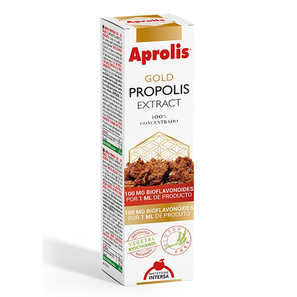 Aprolis Gold Propolis Extract - 30 ml. Dietéticos Intersa