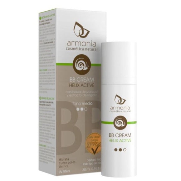 BB Cream. Helix Active Tono Claro - 30 ml.  Armonía