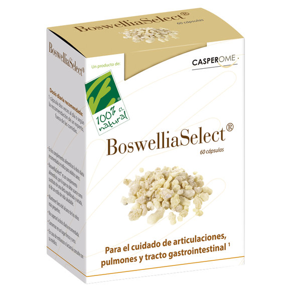 BoswelliaSelect - 60 cápsulas. 100% Natural