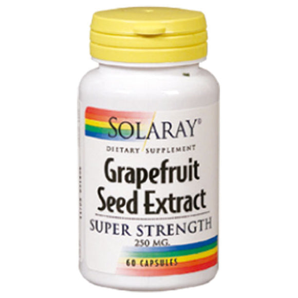 Grapefruit Seed Extract 250 mg. - 60 Cápsulas. Solaray