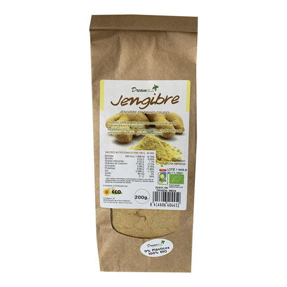 Jengibre en Polvo BIO - 200g. Dream Food