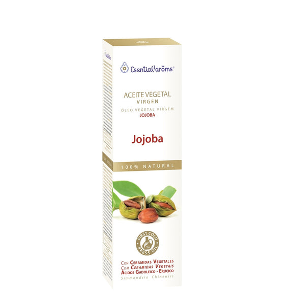 Aceite Vegetal Virgen. Jojoba - 100 ml. Esential'aroms