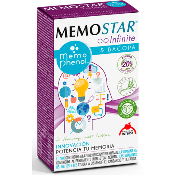 Memostar Infinite - 60 Capsulas. Dietéticos Intersa