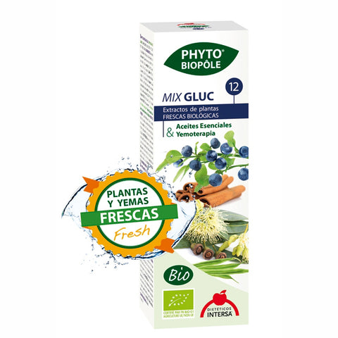 Phyto Biopole nº 12. Mix gluc - 50 ml. Dietéticos Intersa.