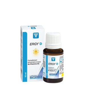 Ergy D - 15 ml. Laboratorios Nutergia