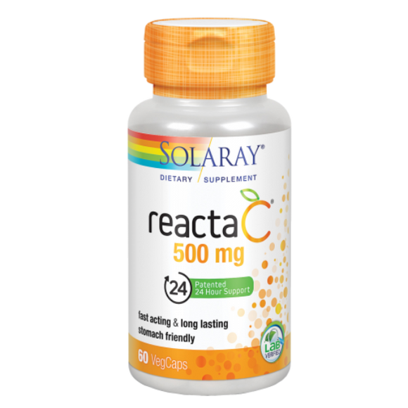 Reacta C 500 mg - 60 Cápsulas. Solaray