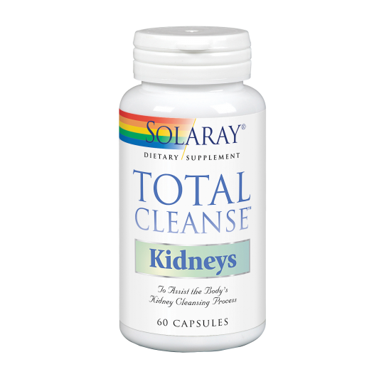 Total Cleanse Kidney - 60 Cápsulas. Solaray