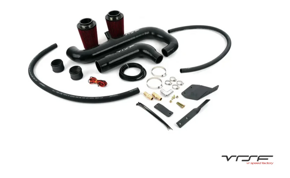 VRSF Relocated Silicone High Flow Inlet Intake Kit N54 07-10 BMW 135i/335i