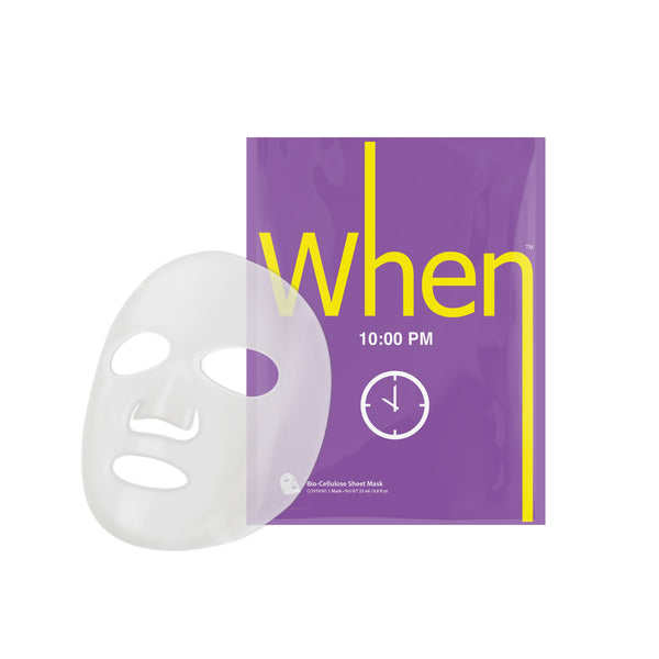 When® Beauty 10:00 PM Anti-Aging Premium Bio-Cellulose Sheet Mask