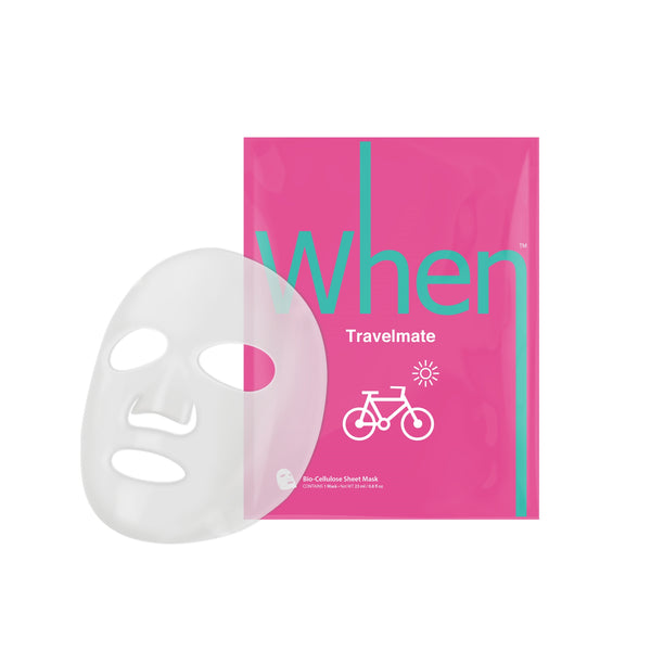 When® Beauty Travelmate Refreshing Premium Bio-Cellulose Sheet Mask