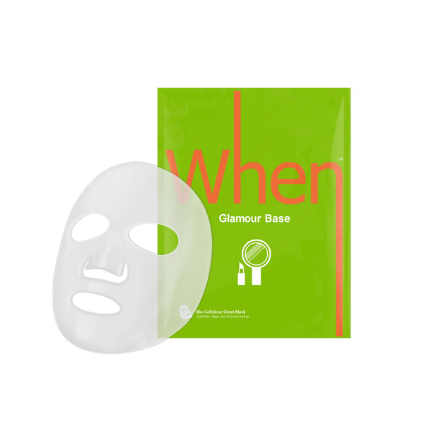 When® Beauty Glamour Base Firming Premium Bio-Cellulose Sheet Mask