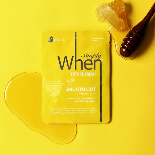 Simply When® Future Fresh Smooth Out Ultra-Soft Cotton Linter Bemliese Sheet Mask