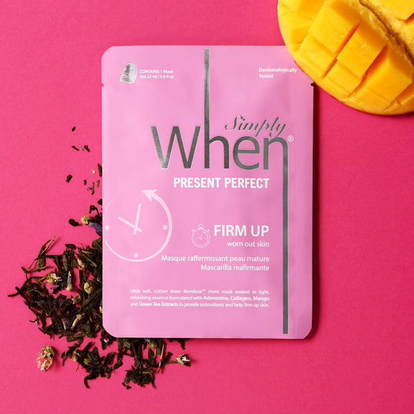 Simply When® Present Perfect Firm Up Ultra-Soft Cotton Linter Bemliese Sheet Mask