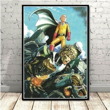 Load image into Gallery viewer, ONE PUNCH MAN  High Quality Unframed Anime Theme Canvas Print 60 x 80cm