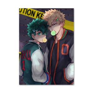 MY HERO ACADEMIA  Original Anime Canvas Unframed Wall Art 60 x 80cm