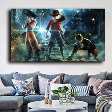 Load image into Gallery viewer, ANIME COLLAGE  Original Main Character Anime Collage Art 70 x 100cm