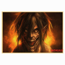 Load image into Gallery viewer, ATTACK ON TITAN  Anime Themed Unframed Canvas Wall Art 60 x 85cm