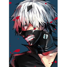 Load image into Gallery viewer, TOKYO GHOUL  Kaneki Ken Cosplay Mask with Zipper