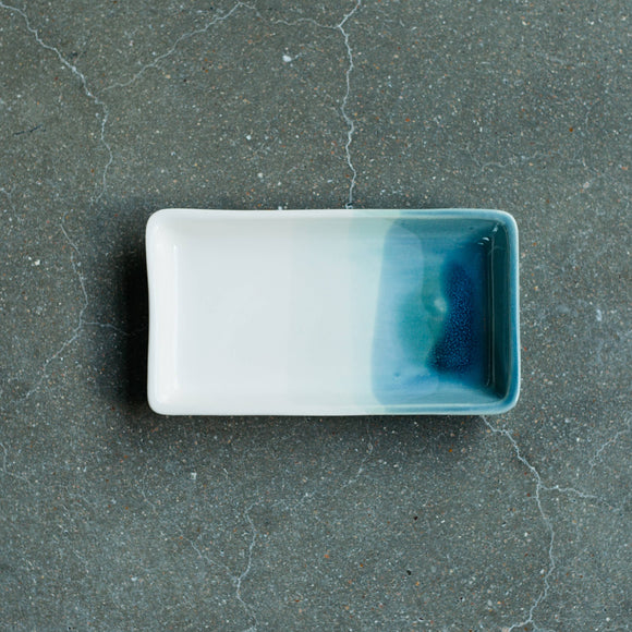 Ceramic Tray in Ocean