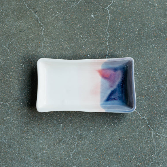 Ceramic Tray in Sunset