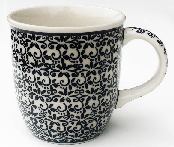 Polish Pottery 12oz Stoneware Mug