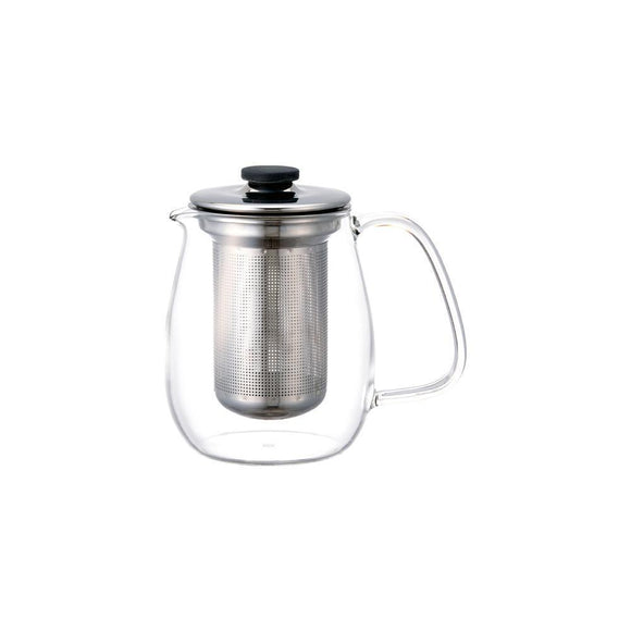 UNITEA Glass Teapot with Stainless Infuser