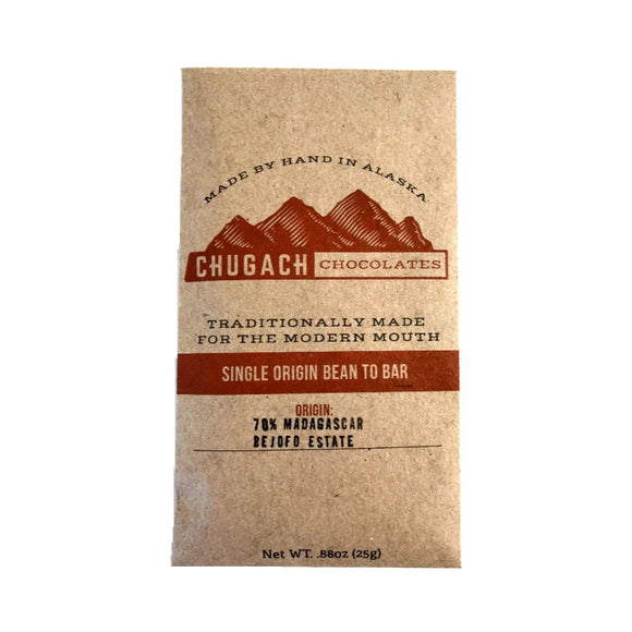 Single Origin Madagascar Dark Chocolate Bar
