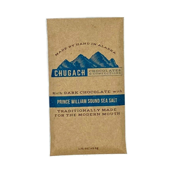 Dark Chocolate with Prince William Sound Sea Salt