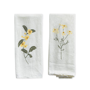Tea + Chamomile Napkins, Set of 4