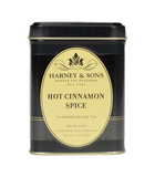 Tea Tin for Hot Cinnamon Spice from Harney and Sons 4oz