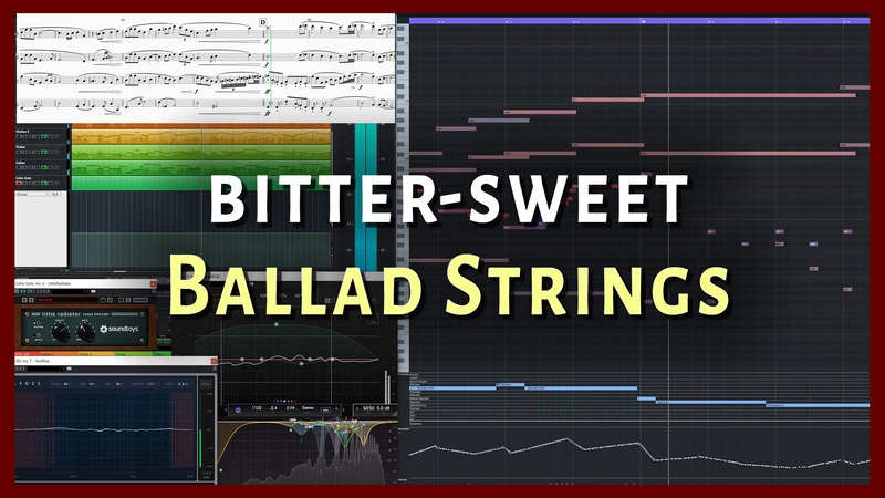 [Walkthrough & Tips] Best EQ Plugins for Bitter-Sweet Ballad Strings