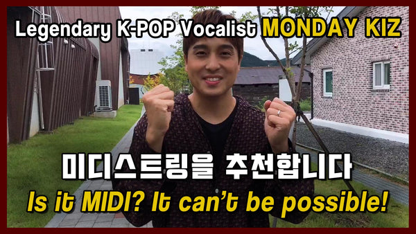 (Review) Is it MIDI? it can't be possible! - MONDAY KIZ, Legendary K-POP singer