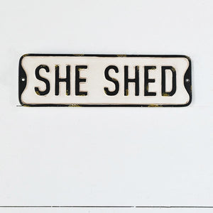 She Shed Sign