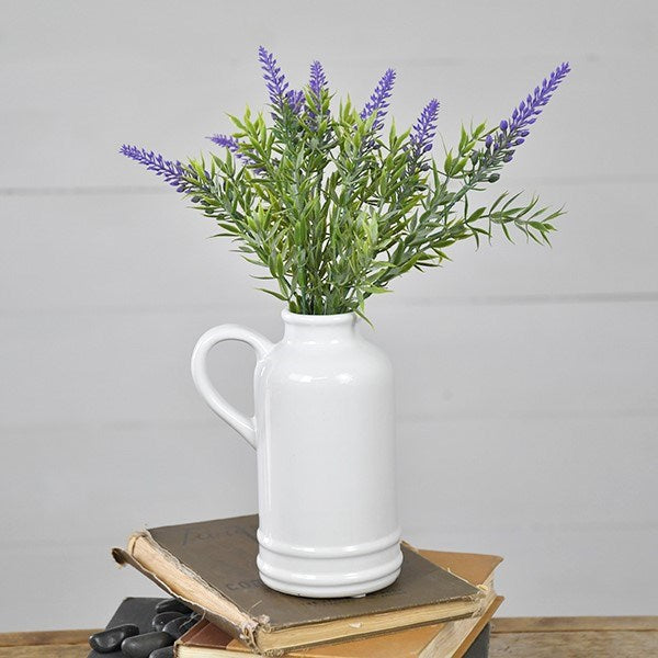 White Jug Pitcher