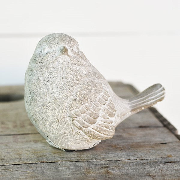 Distressed Cold Cast Bird
