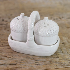 Mini Acorn Salt & Pepper Shakers