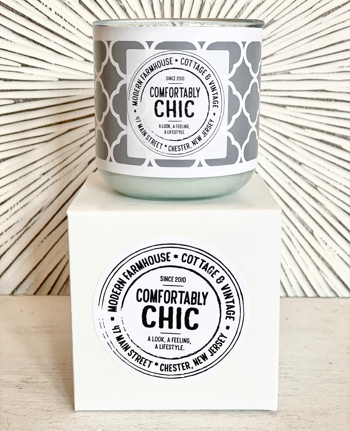 Comfortably Chic Signature Candle