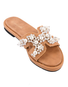 Jewel Embellished Slides