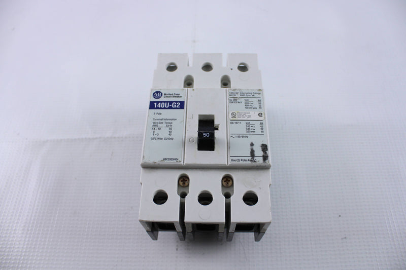 Allen-Bradley AB140U-G2 Circuit Breaker  - Reconditioned