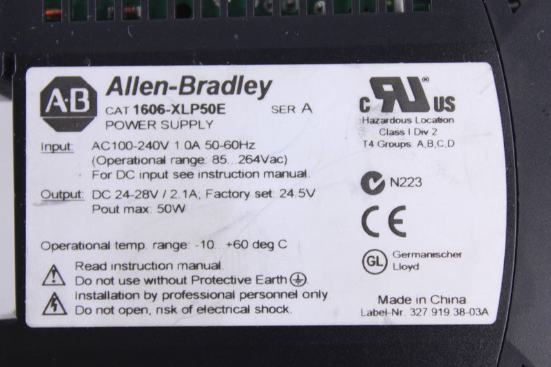Allen-Bradley 1606-XLP50E  - Reconditioned