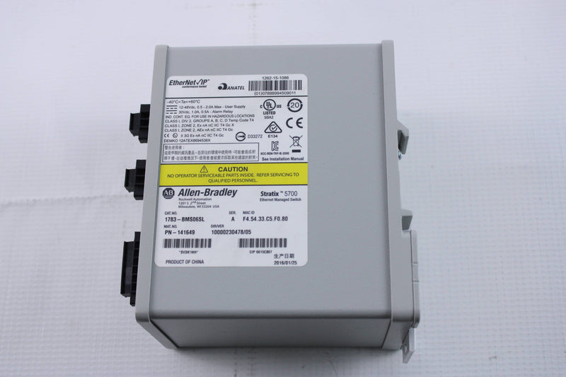 New No Box - Allen-Bradley 1783-BMS06SL Stratix 5700