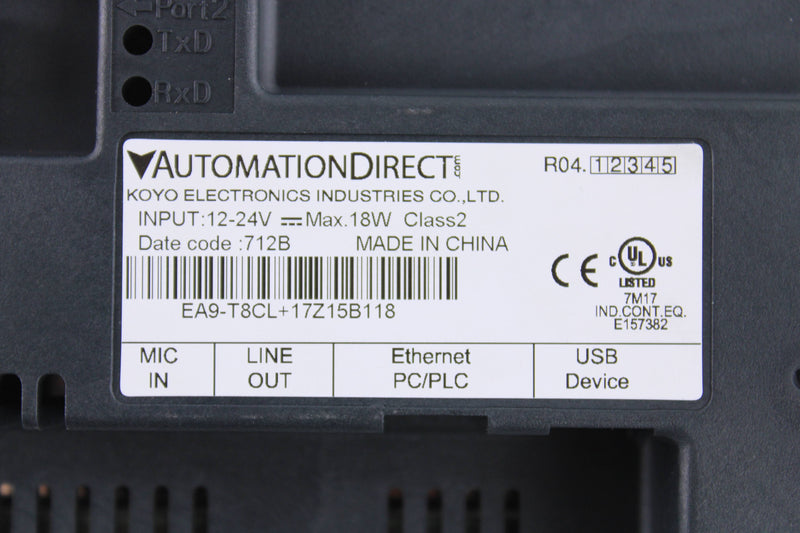Automation Direct EA9-TCL
