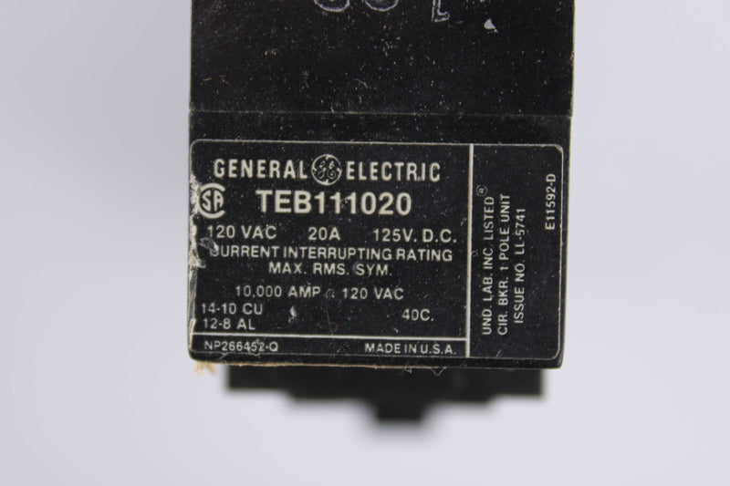 General Electric TEB111020  - Reconditioned