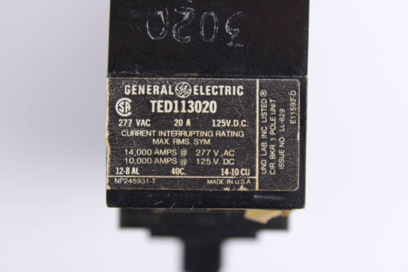 General Electric TED113020  - Reconditioned
