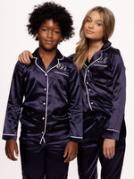 Pyjama Kids Navy Long Kids