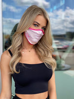 Face mask Heavenly Pink / Hot Pink